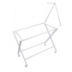Estructura Minicuna Tijera Plegable con dosel
