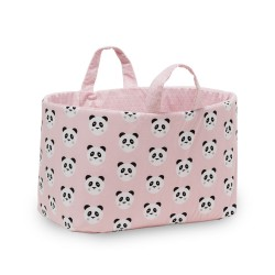 Bolsa Juguetes rectangular - PANDY rosa - funny baby