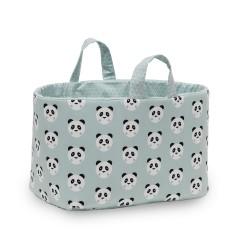 Bolsa Juguetes rectangular - PANDY menta - funny baby