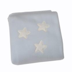 Manta Minicuna - Capazo - Estrella azul