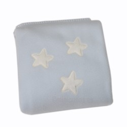 Manta Minicuna - Estrella azul