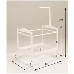 Estructura Minicuna mod. Cabezal+Dosel