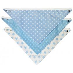 bandanas para bebe - color azul