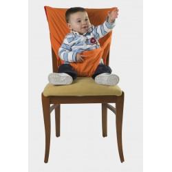 Trona portatil  sack'n seat naranja