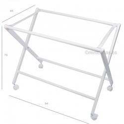 Estructura Minicuna Moises Tijera (plegable)